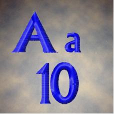 Albertus Alpha UC-LC-Numbers-Symbols