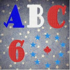 All That Jazz Alphabet UC-Numbers-Symbols