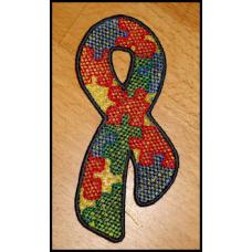 Autism Ribbon FSL 4x4
