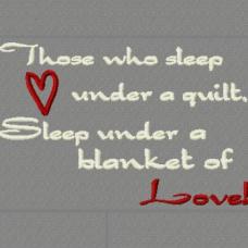 Blanket Of Love...