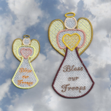 Angel Blessings FSL 2 Sizes 11