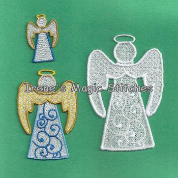 Christmas FSL Angel 3 Sizes 01