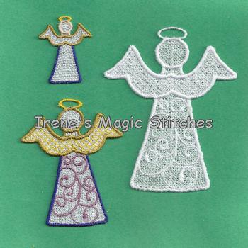 Christmas FSL Angel 3 Sizes 04