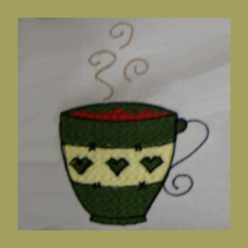 Coffee Cup Single 4x4