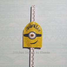 1 Eyed Minion Pencil Pal ITH