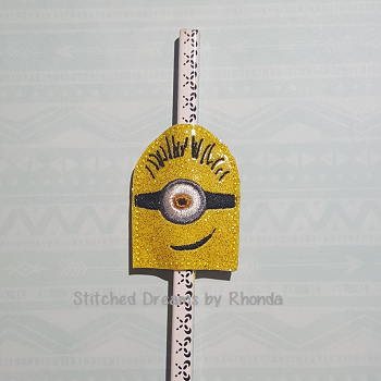 1 Eyed Minion Pencil Pal ITH