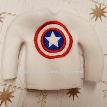American Capt Elf Shirt