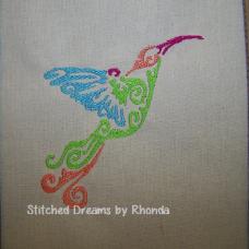 Colorful Hummingbird Single