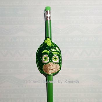 Gecko Lizard Mask Pencil Pal ITH