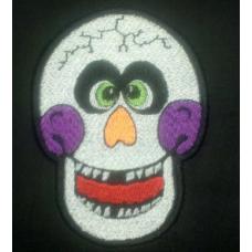 Halloween Skull Single 4x4