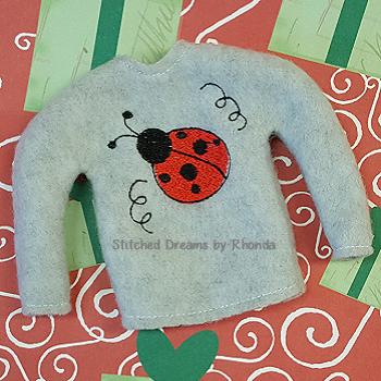 Ladybug Elf Shirt ITH