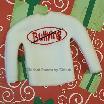No Bullying Elf Shirt