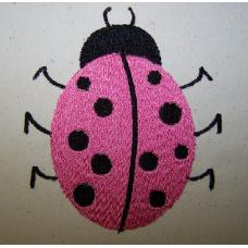 Pink Ladybug Single 4x4