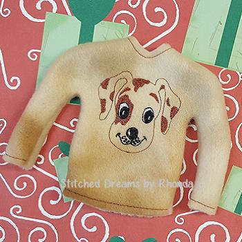 Puppy Face Elf Shirt