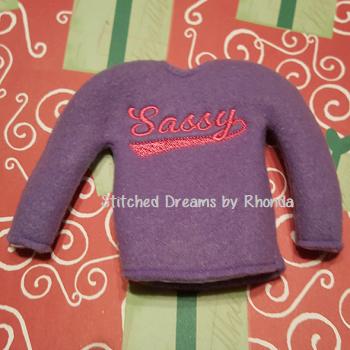 Sassy Elf Shirt ITH