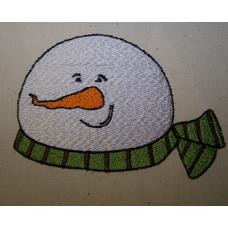 Snowman Head Single 4x4